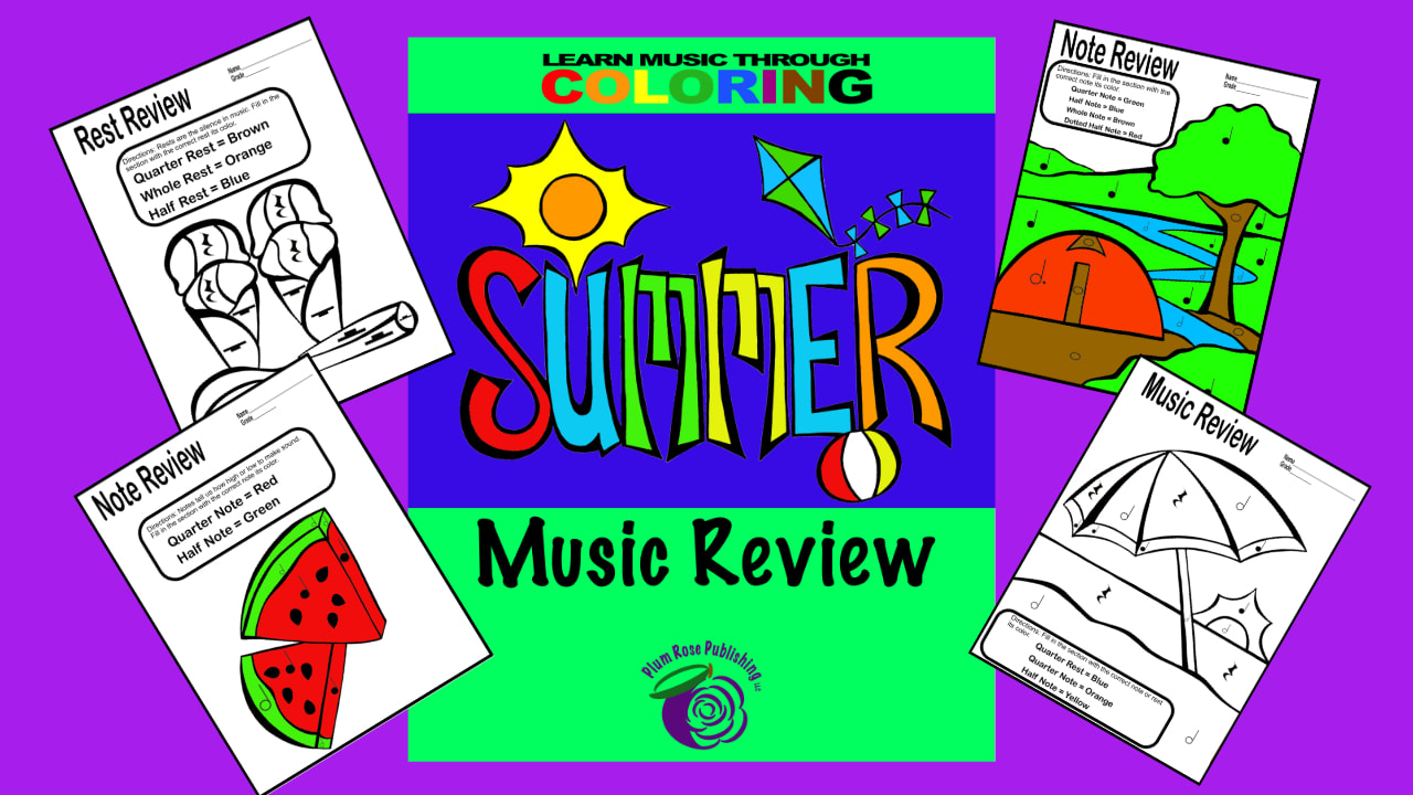 Picture of Summer Review pages